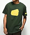 Illegal Civilization Tickets Green T-Shirt
