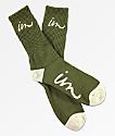 Imperial Motion Curser Olive Crew Socks