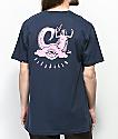 Imperial Motion Goddess camiseta en azul marino