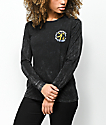 Imperial Motion Puff Puff Black Long Sleeve T-Shirt