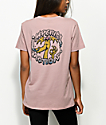 Imperial Motion Puff Puff Mauve T-Shirt