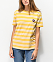 Imperial Motion Rounder camiseta de rayas amarillas