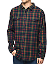 Imperial Motion Townsend Navy Flannel Shirt