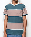Imperial Motion Vintage Striped Pocket T-Shirt