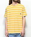 Imperial Motion Vintage Yellow Stripe Pocket T-Shirt