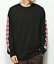 Independent Banner Black Long Sleeve T-Shirt