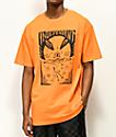 Independent Hitz Ritual Decommissioning Orange T-Shirt