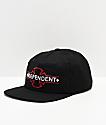 Independent Underground Black Snapback Hat