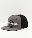 Independent Underground Grey & Black Snapback Hat