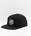 Independent x Thrasher Pentagram Black Snapback Hat
