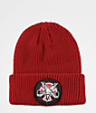 Independent x Thrasher Pentagram Red Beanie