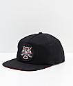 Independent x Thrasher Pentagram gorra negra de béisbol