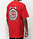 Independent x Thrasher Time To Go camiseta roja