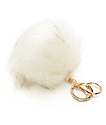 Ivory Fuzzy adorno de bolso