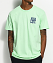 JSLV Highlife Crest Mint T-Shirt