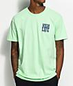 JSLV Highlife Crest camiseta en menta