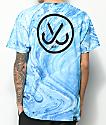 JSLV Marble Blue Tie Dye T-Shirt
