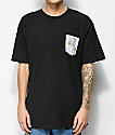 JSLV Palma Pakalolo Black Pocket T-Shirt
