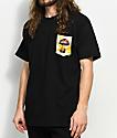 JSLV Shroomies Select Black Pocket T-Shirt