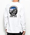 JSLV The Pack White Long Sleeve T-Shirt