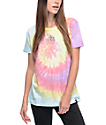 JV By Jac Vanek Don't Be A Prick camiseta con efecto tie dye