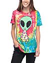 JV By Jac Vanek Pizza Nerd camiseta con efecto tie dye
