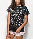 JV By Jac Vanek Take Me Home camiseta negra con efecto tie dye