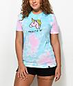 JV by Jac Vanek Majestic AF camiseta con efecto tie dye