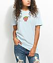 JV by Jac Vanek Send Noods Light Blue T-Shirt