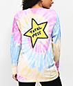 JV by Jac Vanek Total Mess Tie Dye Long Sleeve T-Shirt