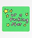 JV by Jac Vanek Ur A Star pegatina
