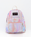 Jansport Half Pint FX Sunkissed mini mochila pastel