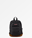 Jansport Right Pouch mini mochila negra