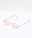 Jenna Silver & Pink Sunglasses