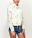 Jolt Pineapple Cropped Windbreaker Jacket