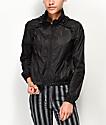 Jolt chaqueta corta cortavientos en negro