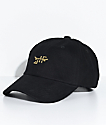 Just Have Fun Chopper Black Strapback Hat