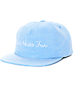 Just Have Fun Faded Blue Strapback Hat
