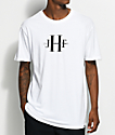 Just Have Fun Stone Wash camiseta blanca