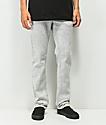 KR3W K Slim Acid Grey Jeans