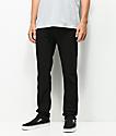 KR3W K Standard Black Jeans
