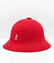 Kangol Bermuda Casual Scarlet Bucket Hat