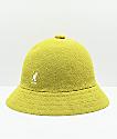 Kangol Bermuda Casual Yellow Toxic Bucket Hat