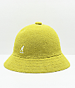 Kangol Bermuda Casual sombrero de cubo amarillo