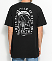 Key Street Coffee Or Death camiseta negra