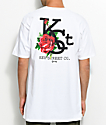 Key Street Flora White T-Shirt