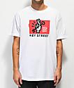 Key Street Good Luck camiseta blanca