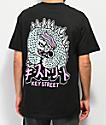 Key Street Kaiju camiseta negra