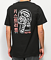 Key Street Keyhole Tiger Black T-Shirt