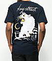 Key Street Suka camiseta azul marino